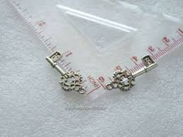 5pcs key charms for bracelet pendant