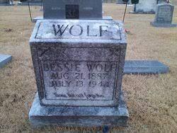 Bessie Wolf (1887-1944) - Find A Grave Memorial