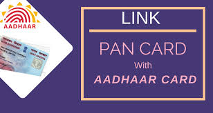 Image result for pan card with aadhar card