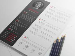 Free Vector Resume Template By Andy Khan On Dribbble