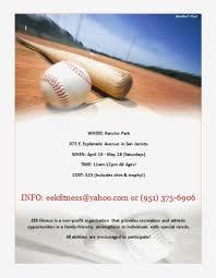 Baseball Brochure Template Baseball Templates Brochure Template Flyer Microsoft Word