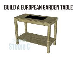 the european garden table pot37