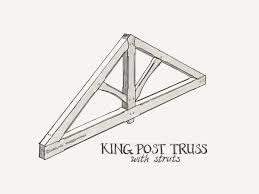 30 Foot Truss Design Timber Frame Trusses Carolina Timberworks