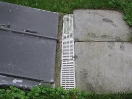 Installing A Basement Entry Drain A Concord Carpenter - Exterior drain pipe