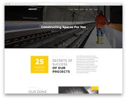 Construction Website Templates 24 Best Free Construction Website Templates For Modern Builders 2418 7