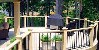 wood deck railing ideas. Deck Rail Ideas Round Peach Tree Decks Porches Wood Step Railing