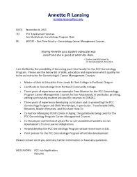 Intro Cover Letter Epa4 B Career Presentation Gerontology