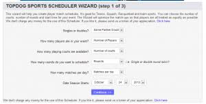 League And Tournament Management Free Round Robin Scheduler