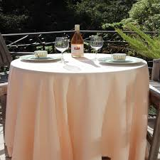 90 round linen tablecloth havana collection