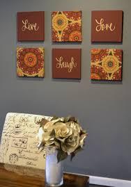 6 piece canvas set  on 6 piece wall art set with solar flair 6 piece wall decor set marsala burgundy maroon henna