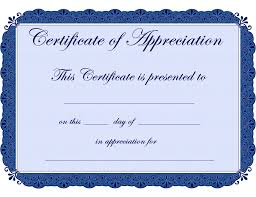 Certificate Of Recognition Wordings Free Sample Certificate Appreciation Template Fresh 10 Best