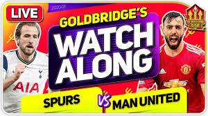 TOTTENHAM vs MANCHESTER UNITED With Mark GOLDBRIDGE LIVE - YouTube