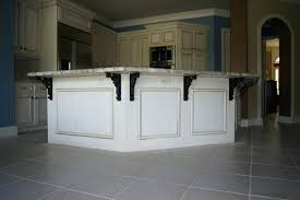 countertop overhang support incomparable kitchen island overhang support from black metal regarding superb photographs of supports