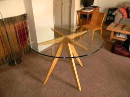 metal dining table base round dining table base custom wood bases for glass tops metal top