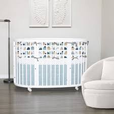 custom crib bedding stokke bedding american adventure 100 cotton choose your fabric choose your trim