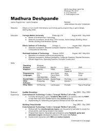 Pdf Resume Template Free With Internship Resume Template Format Pdf