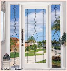 leaded glass decorative allure see through for doors plans 19