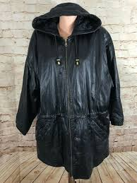 wilsons leather hooded anorak parka uni thinsulate liner