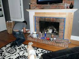 mounting led tv on brick fireplace flat screen over how to hang above and hide wires