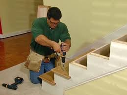 how to replace stair railing.  Stair Installing The Treads With How To Replace Stair Railing