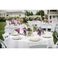 1 8m round white tablecloth wedding & party hire brisbane Wedding Linen Brisbane white round tablecloth Wedding Centerpieces