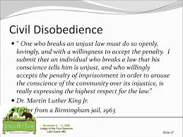 disobedience and letter from birmingham jail essay civil disobedience and letter from birmingham jail essay