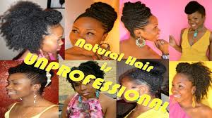 Unprofessional Hair Style natural hair is very unprofessional youtube 3427 by wearticles.com