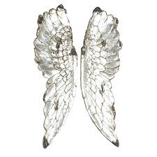 angel wing wall decor metal wings uk large