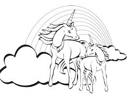 Unicorn Coloring Pages Free Printable Unicorn Coloring Page