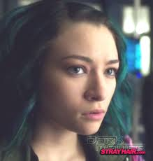 Hair Style Tv Shows jodelle ferland in dark matter great green and blue hairstyle 8177 by stevesalt.us
