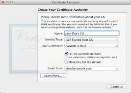 Certificates To Make Secure Email