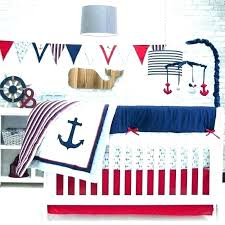 girls nautical crib bedding baby set l sets 6 piece pink and blue