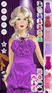makeup hairstyle dress up barbie free ios