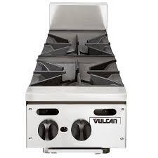 vulcan vhp212 liquid propane 12 2 burner countertop range 55 000 btu main picture