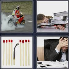 4 pics 1 word 7 letters Burnout