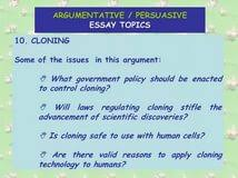 persuasive essay human cloning classification and division essay persuasive essay human cloning
