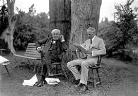 henry ford with thomas edison. Exellent Ford Thomas Edison U0026 Henry Ford In With