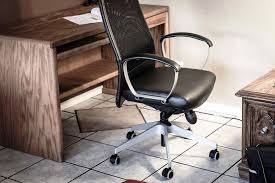 White Leather Office Chair Ikea Leather Desk Chair IKEA White Office Ikea