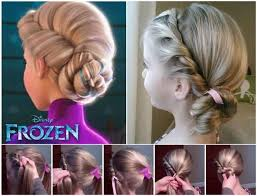 Comment Faire La Coiffure D Elsa La Reine Des Neiges Frozen