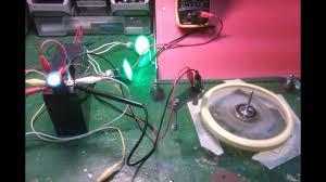 self running eleman magnet motor or oscillator or generator test 2