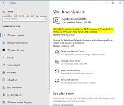 ulative update kb4522738 net