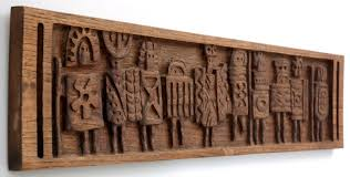 wood wall art ideas snails view pertaining to wood carved wall art regarding present residence