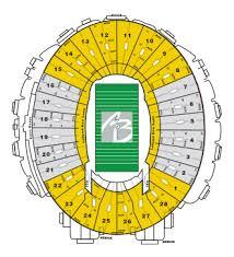 Rose Bowl Seating Chart Al Brooks Rose Bowl Tours