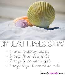 diy sea salt spray for curly hair