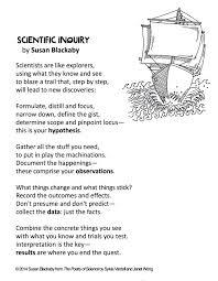 scientific inquiry poem