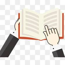 cartoon hands holding a book hand painted cartoon book reading png and