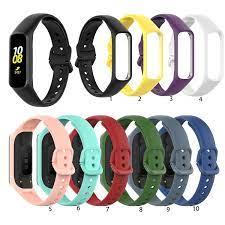Dây đeo silicon cao cấp cho đồng hồ thông minh Samsung Galaxy Fit 2 Sm-R220  - Phụ kiện thiết bị đeo thông minh