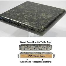 54 round premium granite table top