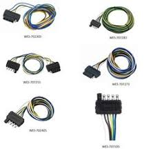 wesbar 5 flat wiring harnesses wesbar 4 pin 5 wire diagram wesbar wiring harnesses