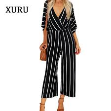 xuru women loose striped dress off shoulder half sleeve long dresses autumn casual with belted